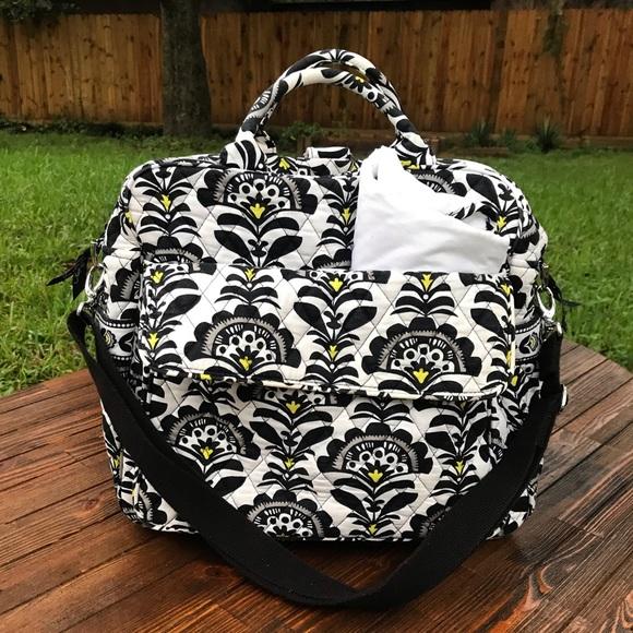 Vera Bradley Other - Black & White Vera Bradley Diaper Bag